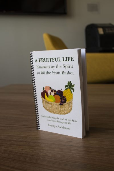 """The front cover of """"A fruitful life."""""""